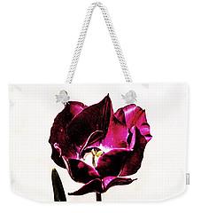 Purple Tulip Weekender Tote Bag by Angela DeFrias