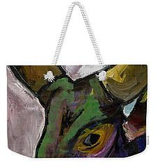 Purple Ugandan Cow Weekender Tote Bag