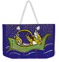 Pussycat And Owl Stars Weekender Tote Bag
