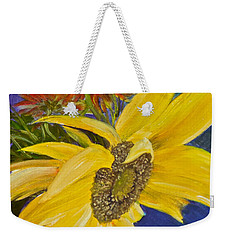 Puttin' On A Sunny Face Weekender Tote Bag