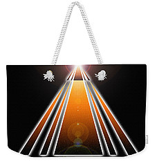 Pyramid Of Light Weekender Tote Bag