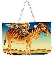 Quagga Weekender Tote Bag by Frances Broomfield