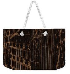 Weekender Tote Bag featuring the digital art Quake - Ground Zero by GJ Blackman