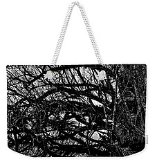 Weekender Tote Bag featuring the digital art Quantum Entanglement 1 by Chriss Pagani