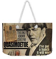 Quasimoetoe Poster Weekender Tote Bag
