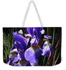 Quebec Provincial Flower Weekender Tote Bag
