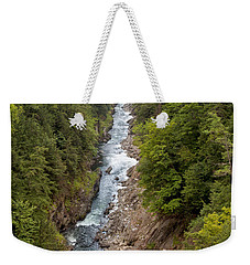 Quechee Gorge State Park Weekender Tote Bag by John M Bailey