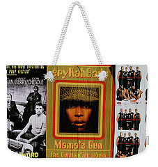 Weekender Tote Bag featuring the photograph Queen Badu by Rebecca Harman