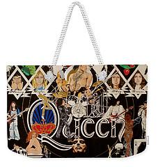 Queen - Black Queen White Queen Weekender Tote Bag