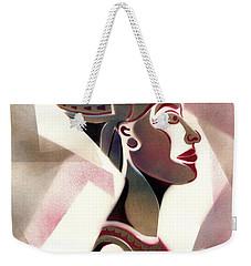 Queen Nefertiti Weekender Tote Bag