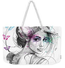 Queen Of Butterflies Weekender Tote Bag