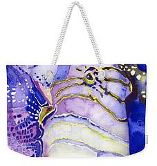 Queen Triggerfish Portrait Weekender Tote Bag