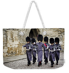 Queens Guard Weekender Tote Bag by Heather Applegate