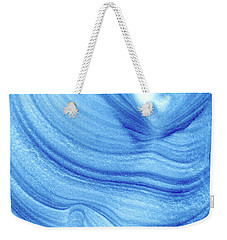 Query Blue 2 Weekender Tote Bag