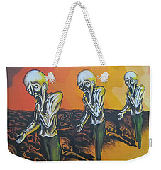 Question To Wonder Weekender Tote Bag by Michael  TMAD Finney