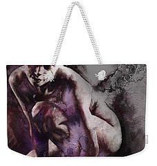 Quiescent. Textured. Square Weekender Tote Bag