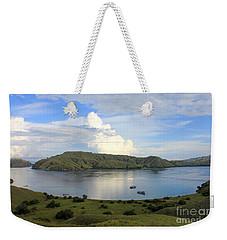 Quiet Bay Weekender Tote Bag by Sergey Lukashin