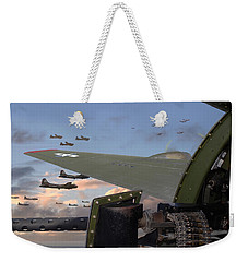 Quiet Before The Storm Weekender Tote Bag