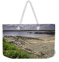 Weekender Tote Bag featuring the photograph Quiet Cove by Mark Myhaver