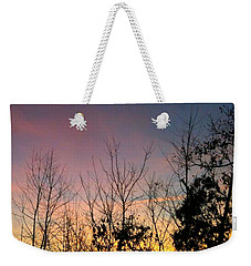 Weekender Tote Bag featuring the photograph Quiet Evening by Linda Bailey