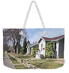 Quiet Street Waiting For Spring Weekender Tote Bag