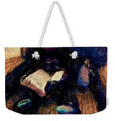 Quiet Time Weekender Tote Bag