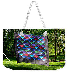Quilt Top In The Breeze Weekender Tote Bag