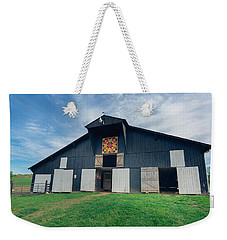 Quilted Barn Weekender Tote Bag
