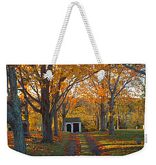 Weekender Tote Bag featuring the photograph Quivet Morning by Dianne Cowen