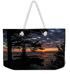 Quoddy Sunrise Weekender Tote Bag