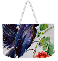 Quoi II Weekender Tote Bag by Beverley Harper Tinsley