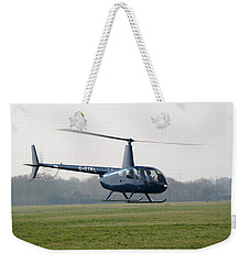 R44 Raven Helicopter Weekender Tote Bag
