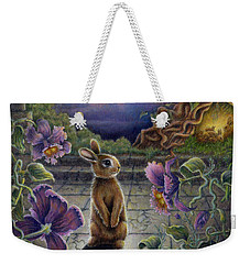 Rabbit Dreams Weekender Tote Bag