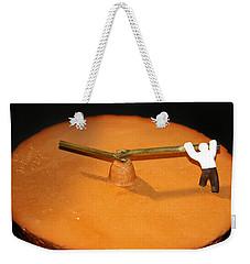 Race Against Time Weekender Tote Bag