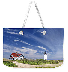 Race Point Light Weekender Tote Bag
