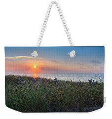 Race Point Sunset Weekender Tote Bag