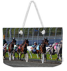 Race To The Finish Weekender Tote Bag