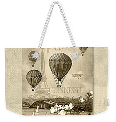Racing In Sepia Weekender Tote Bag