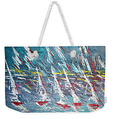 Racing To The Limits - Sold Weekender Tote Bag by George Riney