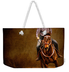 Racing To Win Weekender Tote Bag