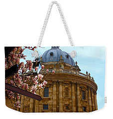 Radcliffe Camera Bodleian Library Oxford  Weekender Tote Bag by Terri Waters