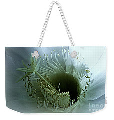 Weekender Tote Bag featuring the photograph Radiant Being by Leanne Seymour
