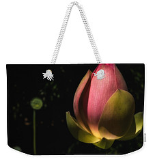 Weekender Tote Bag featuring the photograph Radiant Life by Glenn DiPaola