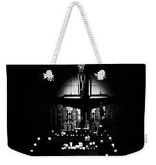 Radiant Light - Black Weekender Tote Bag