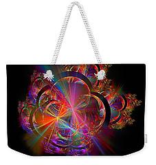 Radiant Rings Weekender Tote Bag