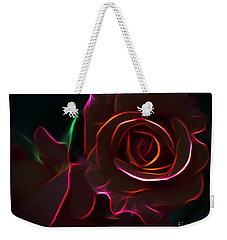 Radiant Rose  Weekender Tote Bag