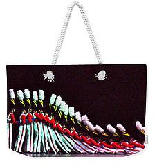 Radio City Rockettes Weekender Tote Bag by Carol  Bradley