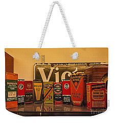 Radio Tubes Weekender Tote Bag by Janice Rae Pariza