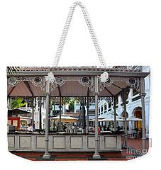 Raffles Hotel Courtyard Bar And Restaurant Singapore Weekender Tote Bag