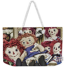 Raggedy Ann And Andy Weekender Tote Bag